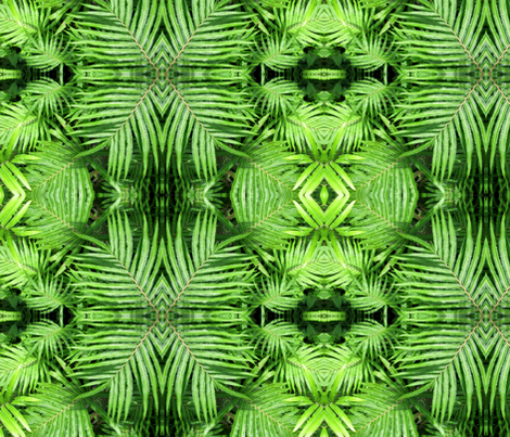 Fern Gully fabric by art_on_fabric on Spoonflower - custom fabric