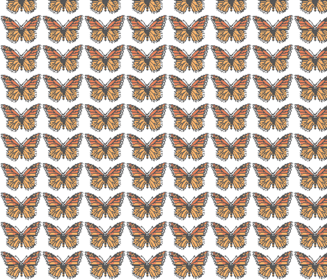 Cross_Stitched_Butterfly fabric by themcconnel on Spoonflower - custom fabric