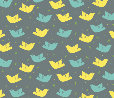 Nesting fabric by jenimp on Spoonflower - custom fabric