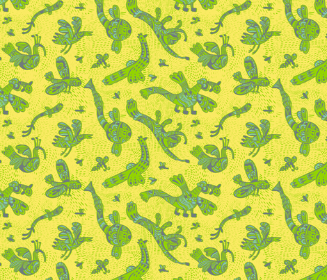 I can fly fabric by ruusulampi on Spoonflower - custom fabric