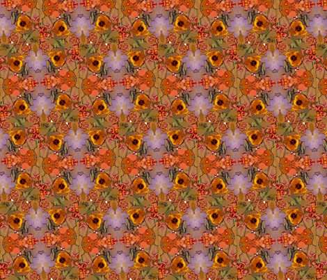 flowertime fabric by heavenly_lotus on Spoonflower - custom fabric