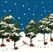 Christmas Woodland