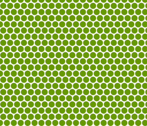 Milledotti (green) fabric by pattern_bakery on Spoonflower - custom fabric