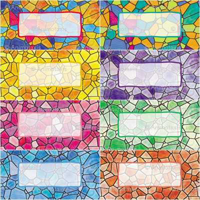 Stained Glass Gift Tags