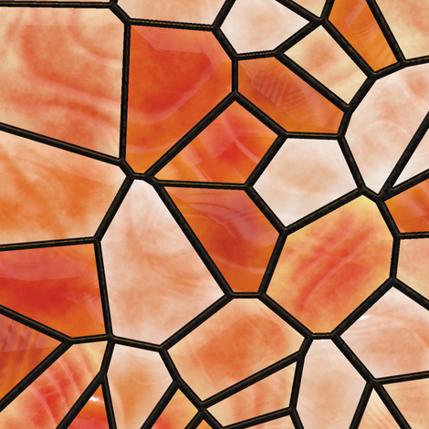Stained Glass 6 fabric by animotaxis on Spoonflower - custom fabric
