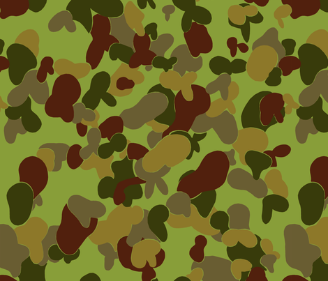 Australian Afghan DPCU Camo fabric by ricraynor on Spoonflower - custom fabric