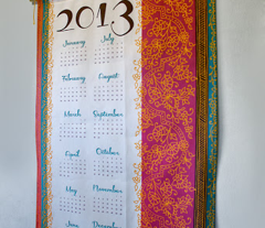 Bollywood Mehndi calendar