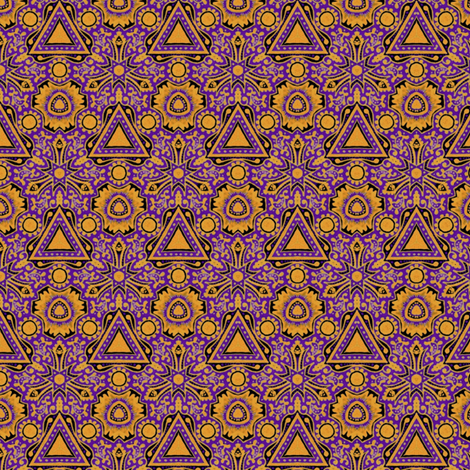Luxury Triangles fabric by siya on Spoonflower - custom fabric