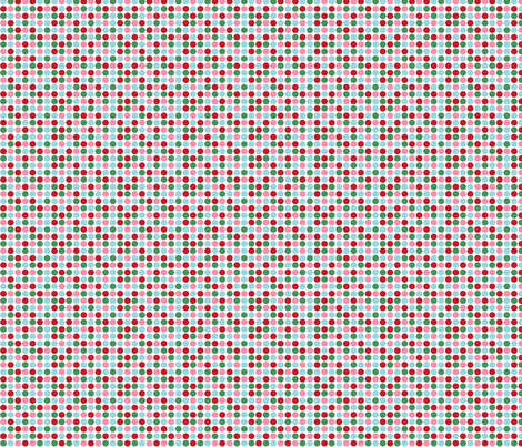 christmas polka dots fabric by misstiina on Spoonflower - custom fabric