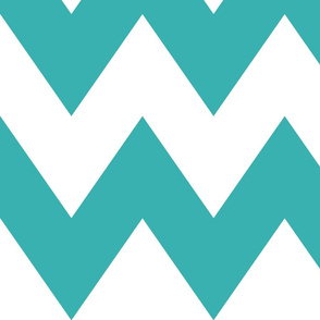 chevron xl teal