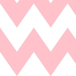 chevron xl light pink