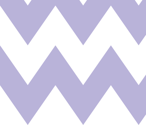 chevron xl light purple and white fabric by misstiina on Spoonflower - custom fabric
