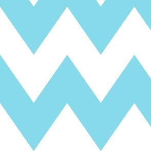 chevron xl sky blue