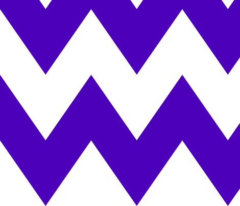 chevron xl purple and white fabric by misstiina on Spoonflower - custom fabric