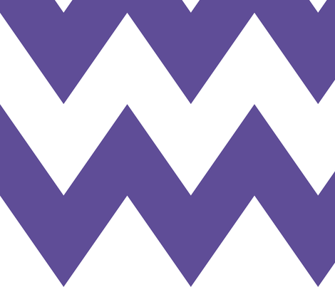 chevron xl purple fabric by misstiina on Spoonflower - custom fabric