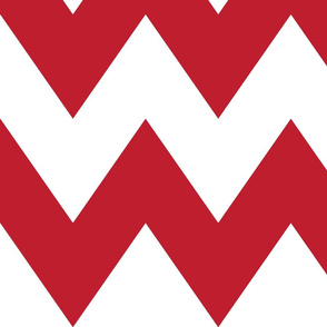 chevron xl red and white