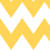 chevron xl yellow and white