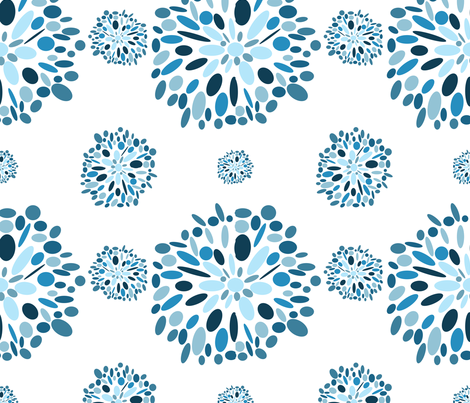 A Lil' Retro fabric by juliapaigedesigns on Spoonflower - custom fabric