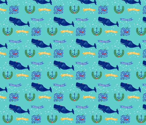 Ahoy, Holiday! fabric by jessamarie on Spoonflower - custom fabric
