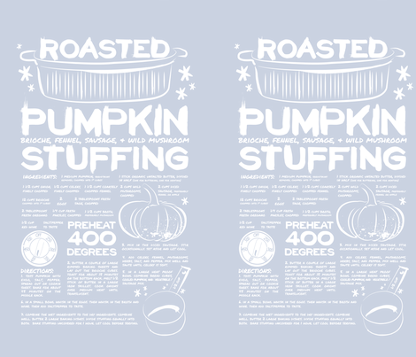 RoastedPumpkin fabric by jennycarbajal on Spoonflower - custom fabric