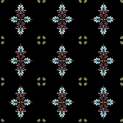 Fabric_kolam_dot_black