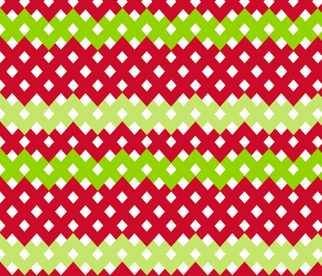 A Holiday full of Diamonds! fabric by fable_design on Spoonflower - custom fabric