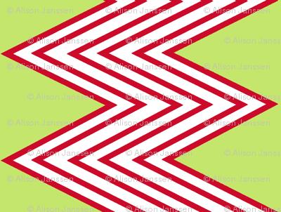 Red Zig-Zag