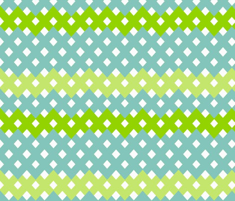 cross hatch -  flying south fabric by fable_design on Spoonflower - custom fabric
