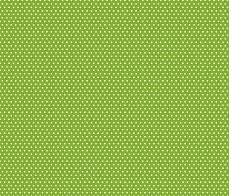 Green &amp; Cream Polka-Dot fabric by diane555 on Spoonflower - custom fabric