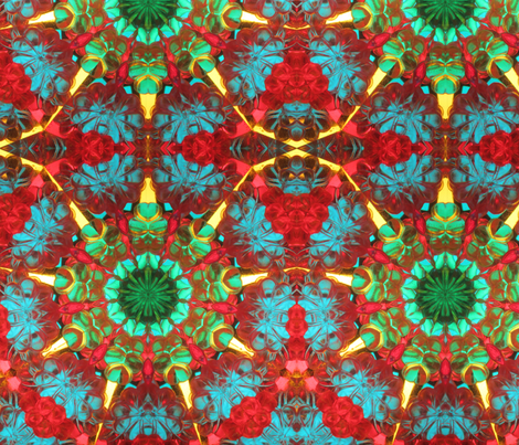 Kaleidoscope Three fabric by the_fretful_porpentine on Spoonflower - custom fabric