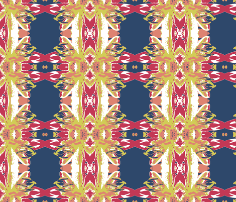 Lily Matisse fabric by lil_bit_brit on Spoonflower - custom fabric