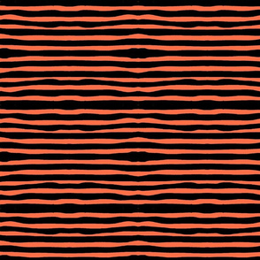 Coral Rolling Stripes