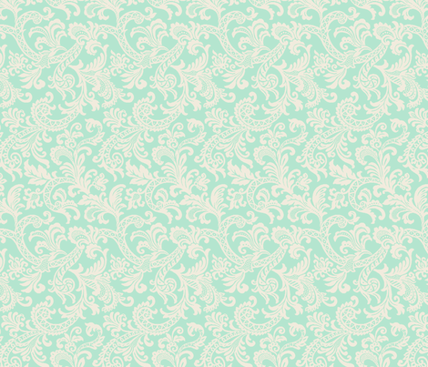 Tiffani Paisley fabric by littlerhodydesign on Spoonflower - custom fabric