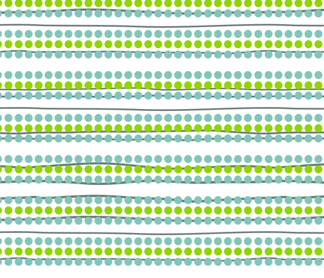 flying south dots n' stripes fabric by fable_design on Spoonflower - custom fabric