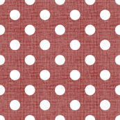 Vintage Christmas Polka Dots