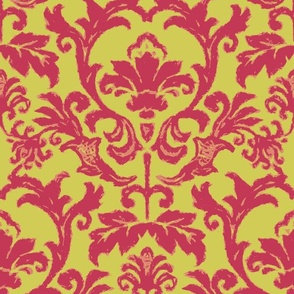 Damask Matisse Style