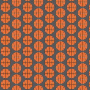 Small Half-Drop Orange Basketball