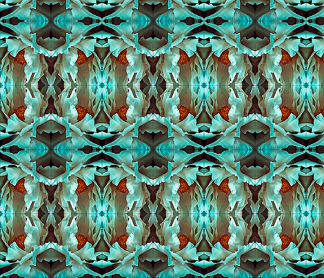 lotus fabric by nascustomwallcoverings on Spoonflower - custom fabric