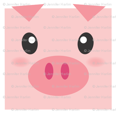 Piggy Delight Version 2 - Very large scale