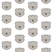 Koala Bear Face