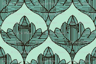 aqua mint_lotus