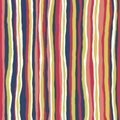 Matisse: Vertical Stripe Coordinate with White