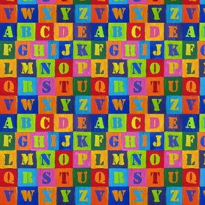 My_Jasper_Johns_Alphabet_8in