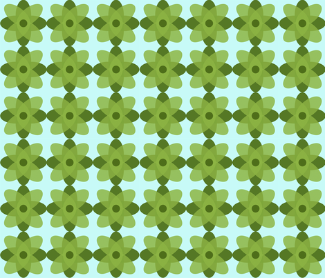 GreeniesSpoonflower fabric by juliapaigedesigns on Spoonflower - custom fabric