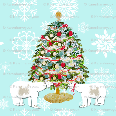 Polar Bear Christmas Tree