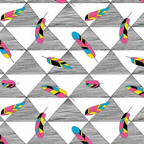 Feathernity - neon