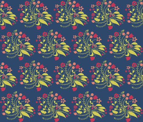 Floral Fun fabric by liina_koskaru on Spoonflower - custom fabric