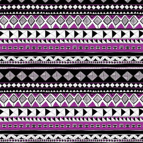 Tribal - purple