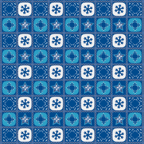 Icy Cold Winter fabric by eppiepeppercorn on Spoonflower - custom fabric