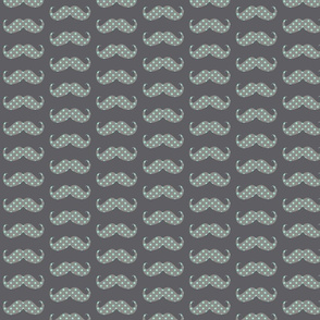 mustache bigger dots